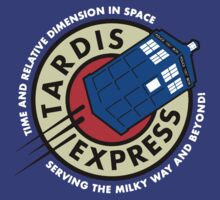 Tardis Express Futurama Doctor Who by Aquilius