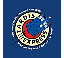 Tardis Express Futurama Doctor Who Photographic Print