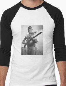 What a man looks like Men's Baseball ¾ T-Shirt