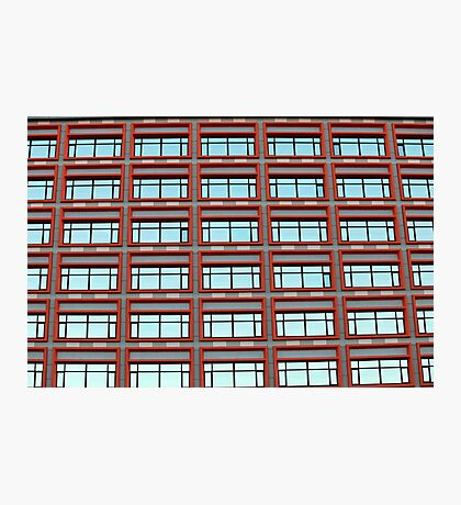 facade of the building Photographic Print