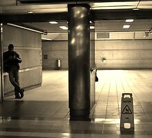 Metro Red Line by Barbara Morrison