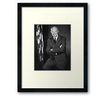 President Eisenhower Framed Print