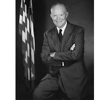 President Eisenhower Photographic Print
