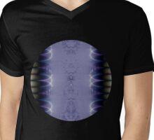 Purple Ribbon Mens V-Neck T-Shirt
