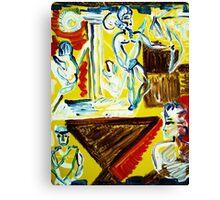 fragment GREEK,S GEOMETRY Canvas Print