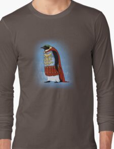 The Majestic Emperor Penguin Long Sleeve T-Shirt