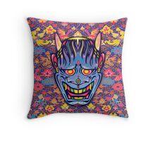 Colors of Night (Tokyo) Throw Pillow