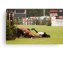 When good jumps go BAD! 6/8 Canvas Print