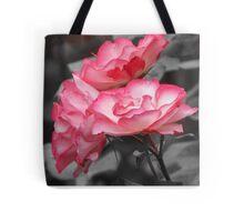 Two-tone Rose Tote Bag