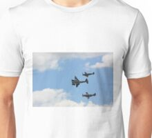 Mosquito, Mustang, and Spitfire Unisex T-Shirt