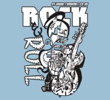 Rock and Roll Childrens by Frank Art Kids Clothes