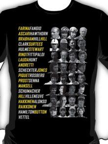 F1 Champions T-Shirt