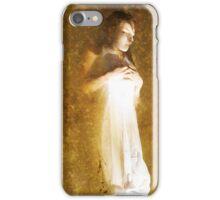 Laying in Sorrow iPhone Case/Skin