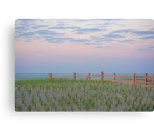 The Beach after the Storm Canvas Print