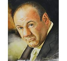 Goodbye Tony (James Gandolfini 1961 - 2013) - cropped Photographic Print