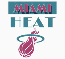 Miami! Heat T-shirt 2 by Fl  Fishing