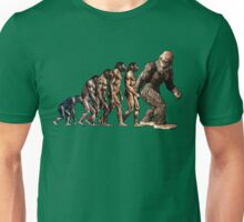 Bigfoot Evolution Unisex T-Shirt