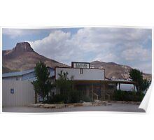 Lajitas General Store - US-Mexico Border - Rio Grande - Lajitas - West Texas Poster
