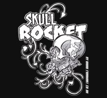Skull Rocket Childrens by Frank Louis Allen Kids Clothes