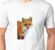 Winter Fox - Close Up Unisex T-Shirt