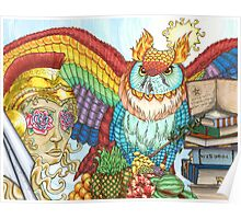 Owl of Life Poster