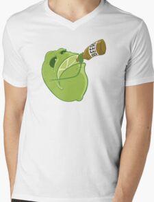Beer & Lime Mens V-Neck T-Shirt
