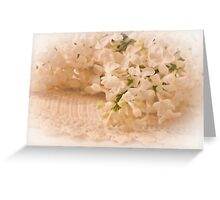 Pristine Lilacs! Greeting Card