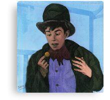 Davy Jones as The Artful Dodger Canvas Print