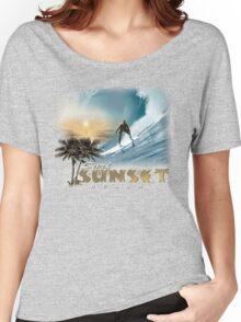 sunset beach Women's Relaxed Fit T-Shirt