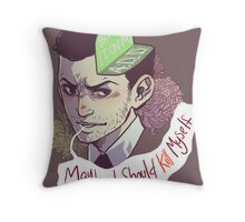 Blame it on my ADD (baby) Throw Pillow