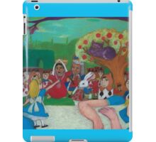 Alice in Wonderland - The Cheshire Cat iPad Case/Skin