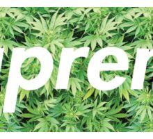 Supreme X Weed Sticker