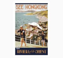 Vintage poster - Hong Kong One Piece - Long Sleeve