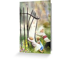 The Other Side Of The Fence Greeting Card