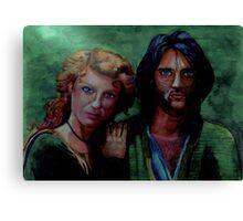 Robin & Marion Canvas Print