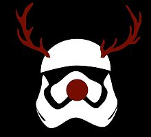 Funny stormtrooper christmas reindeer by AnnaGo