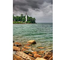 Point Aux Barques Lighthouse, Michigan Photographic Print