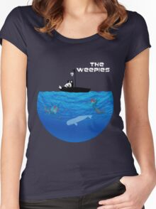The Weepies' World Women's Fitted Scoop T-Shirt