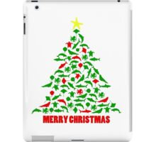 Sea Animal Christmas Tree Merry Christmas iPad Case/Skin