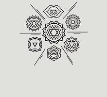 Chakra Hexagram Unisex T-Shirt