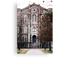 Monroe County Insane Asylum Canvas Print