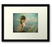 Please sing me your song ... Framed Print