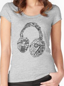 DJ Women's Fitted Scoop T-Shirt