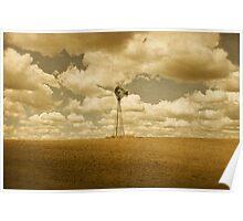 Aermotor Windmill Poster
