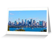 Sydney City Scape Greeting Card