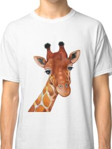 Giraffe Watercolor Classic T-Shirt