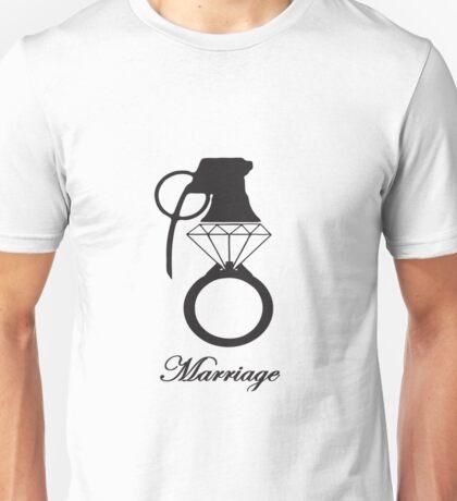 Marriage, Divorce, Weddings Unisex T-Shirt