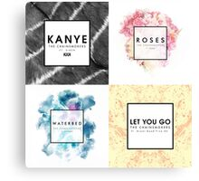 Chainsmokers Songs Canvas Print