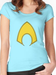 Aquaman Women's Fitted Scoop T-Shirt