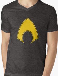 Aquaman Mens V-Neck T-Shirt